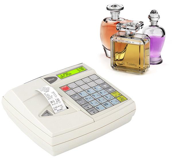 Kasa fiskalna dla dostawców perfum
