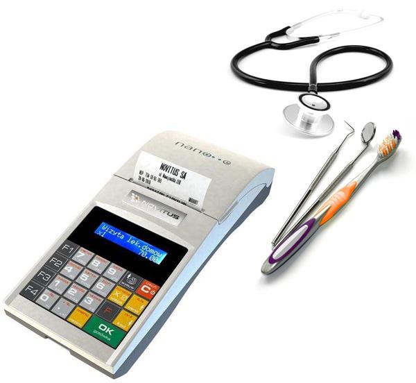 Kasy fiskalne dla lekarza i stomatologa